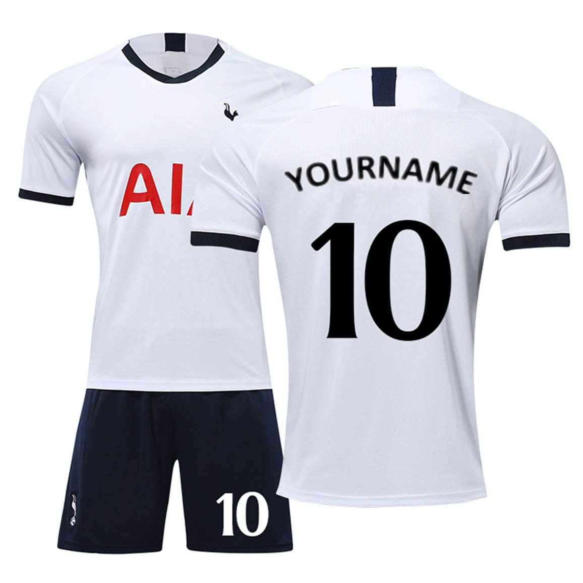 LULUT Custom Soccer Jersey Breathable Sweat-Absorbent Professional Football Uniform Can Be Printed Your Name and Number