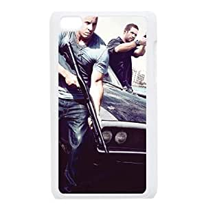 Personalized Durable Case Cover for iPod Touch 4 with Brand New Design Fast and Furious