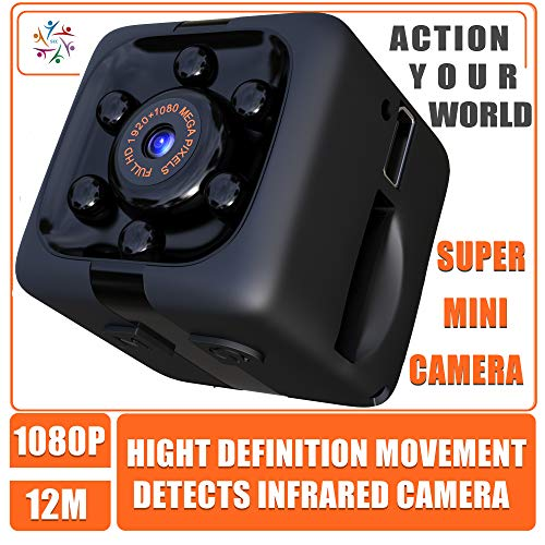 Sharp Eye Cam Tiny Hidden Mini Action Sport Camera. Cop Cam. Wireless, Just 1