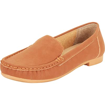 Cambridge Select Women's Classic Slip-On Flat Moccasin Loafer | Loafers & Slip-Ons