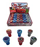 Disney Cars Self-inking Stamps Birthday Party Favors 24 Pieces (Complete Box)