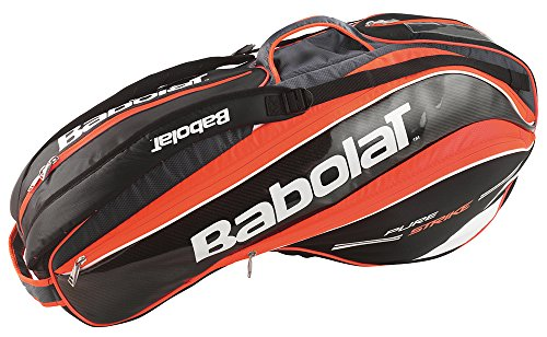 Babolat Pure Strike Racket Holder X6-Red (Babolat Racquet Holder)