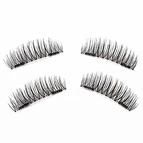 아마존 - Magnetic Eyelashes Dual Magnetic False Eyelashes 3D Reusable Fake Magnet Eyelashes, No Glue 0.2MM Ultra Thin Fake lashes for Soft Natural Look Handmade Seconds to Apply (1 pair 4 pieces) 비드바이 - 해외 전문 경매대행 선두주자아마존 - Magnetic Eyelashes Dual Magnetic False Eyelashes 3D Reusable Fake Magnet Eyelashes, No Glue 0.2MM Ultra Thin Fake lashes for Soft Natural Look Handmade Seconds to Apply (1 pair 4 pieces) - 웹