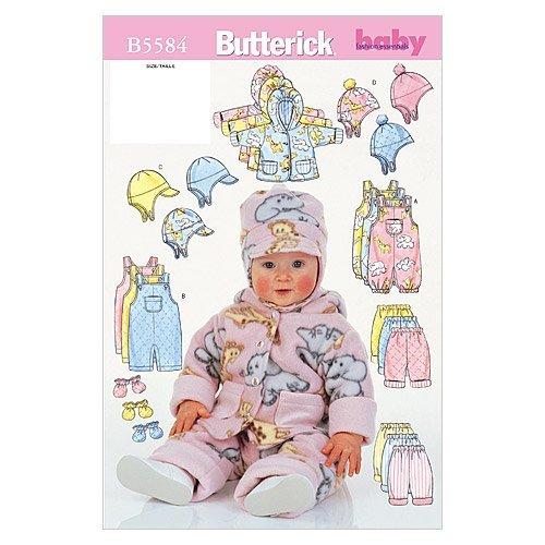 Pantalons NB0 Butterick B/éb/és Jacket NB - S - M mod/èle Salopettes Bonnet et moufles