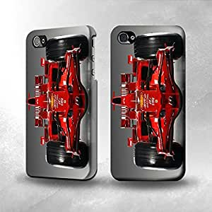 Apple iPhone 4 / 4S Case - The Best 3D Full Wrap iPhone Case - Racing Car Formula One F1