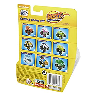 Fisher-Price Nickelodeon Blaze & the Monster Machines, Crusher Core: Toys & Games