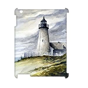 ANCASE Lighthouse Pattern 3D Case for iPad 2,3,4