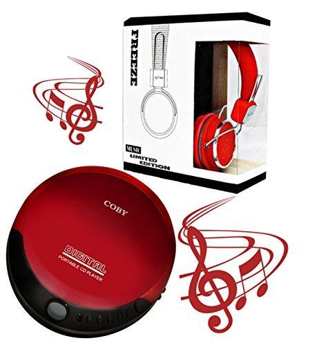Coby portable compact CD player With bonus I-kool Freeze ser