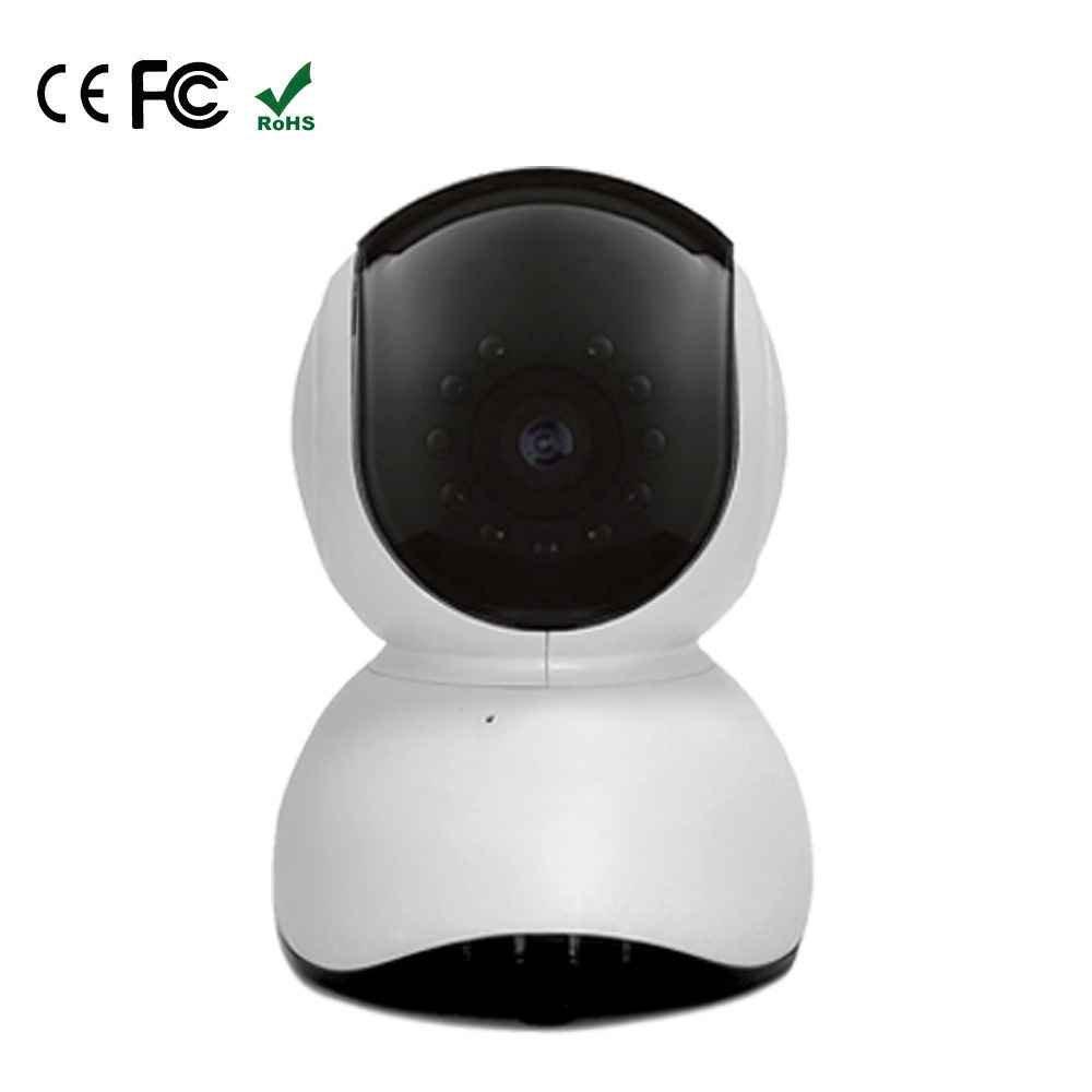 WLAN IP Kamera mit Nachtsicht Funktion,WLAN Drahtlose Überwachungskamera,Zwei-Wege- Audio IP Kamera,Innen 720P IP Kamera mit Lautsprecher,Überwachung Kamera-Sicherheitssystem,720P HD Dome IP Kamera