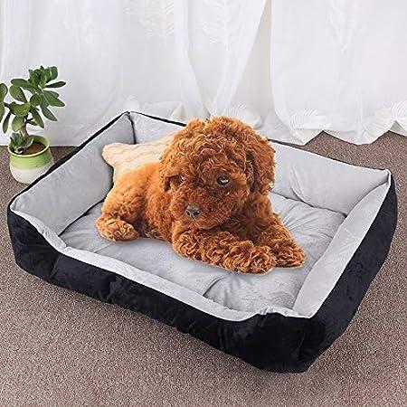 Amazon.com: LZSUS Pet Bed Dog Bone Pattern Big Soft Warm ...