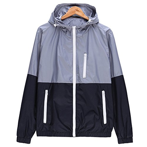 Amcupider Mens Contrast Front Zip Jacket product image
