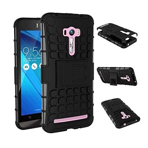 Slim Armor Case for Asus Zenfone 2 Selfie ZD551KL (Black) - 1