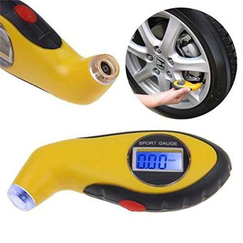 Mystyleshop-PL Tire Pressure Guage Digital Car Truck Air PSI KPA Meter Tester Tyre Gage 2016