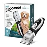PetTech Professional Dog Grooming Kit - Rechargeable, Cordless...