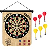 Sports Home Eat Well Travel Often Magnetic Dart Board Safe Precision Darts, Best Gift for Boys & Girls, Great Classic Game the Whole Family can Enjoy - Play in Teams or Solo, Simple & Easy to Install