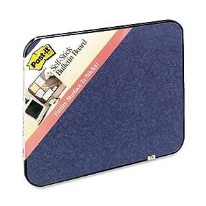 Post-it Self-Stick Bulletin Board, 22 x 36-Inches, Indigo Blue