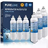 Compatible LG LT800p Refrigerator Water Filter Replacement, Also Fits Kenmore 46-9490, 9490, 469490, R-9490, LG ADQ73613401, ADQ73613402, LSXS26326S, LMXS30776S, LMXC23746S, By PureLine (3 Pack)