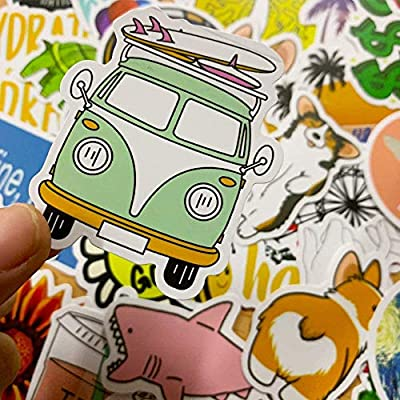 Stickers for Water Bottles VSCO Stickers Laptop Stickers Pack Cute Aesthetics Stickers for Teens Girls Cartoon Chidren Toy Waterproof DIY Suitcase Bicycle Helmet Car Decals 50 pcs: Arts, Crafts & Sewing