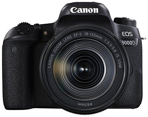 Canon デジタル一眼レフカメラ EOS 9000D レンズキット EF-S18-135mm F3 5-5 6 IS USM EOS9000D-18135ISUSMLK