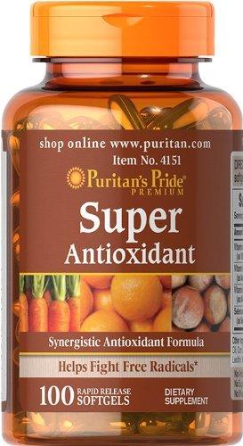 Super Antioxidant Formula 100 Softgels
