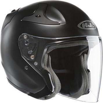 HJC Rpha Casco de Moto Jet, negro, tamaño XL