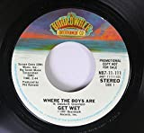 Sedaka-H 45 RPM Where The Boys Are / Get Wet