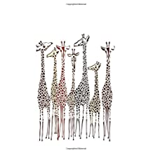 Journal: Giraffes 6x9 - DOT JOURNAL - Journal with dotted pages