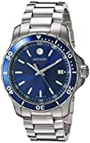 Movado Men's Swiss Quartz Stainless Steel Watch, Color: Silver-Toned (Model: 2600137)