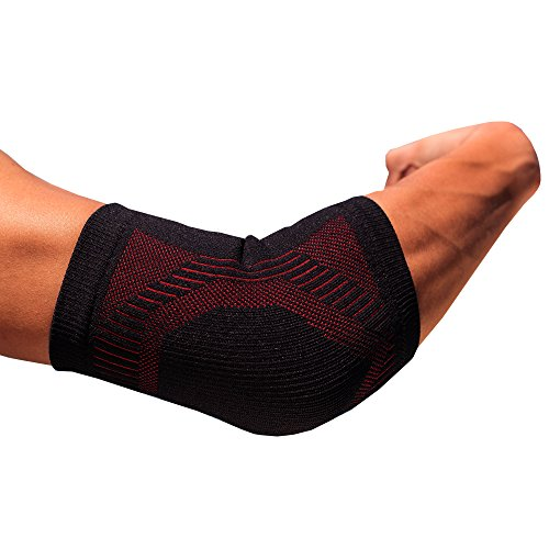 Energy Sports Medicine (FabuLux- Bamboo Charcoal Energy Sport Elbow Sleeve/support/brace (Large))