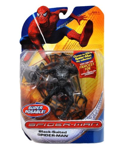 ilogy Heroes Action Figures - Black Suited Spiderman ()