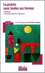 La poésie sous toutes ses formes