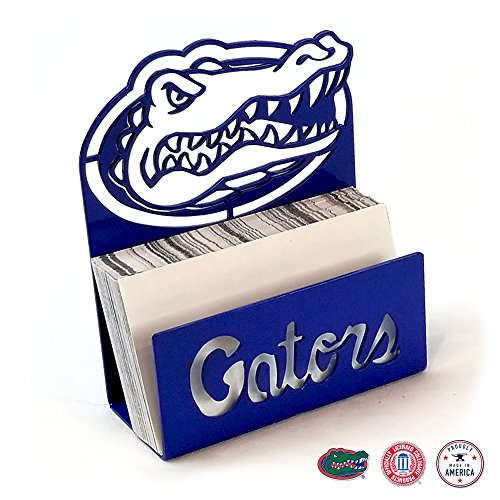 Gameday Ironworks Florida Gators Steel Business Card Holder