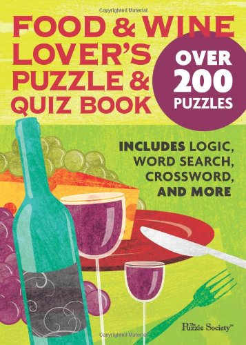 Download Food and Wine Lover's Puzzle and Quiz Book pdf