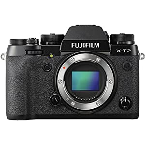 51wE4CFZpyL. SS300  - Fujifilm X-T2 Mirrorless Digital Camera (Body Only)