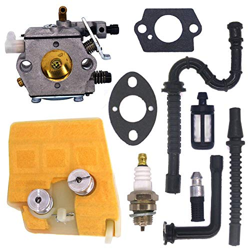 - FitBest Carburetor with Air Filter Tune Up Kit for Stihl 024 026 MS240 MS260 Walbro WT-194 Chainsaws