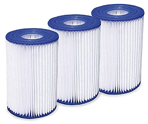 Summer Waves Type A/C Pool Filter Cartridge - 3 - Waves 1000