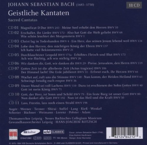 J.S. Bach: Sacred Cantatas