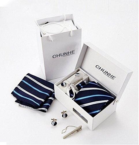 Männer Krawatte 8.5cm gestreifte Krawatte Krawatte Kleid Geschäftsvorstellungsgespräch Krawatte A2-1