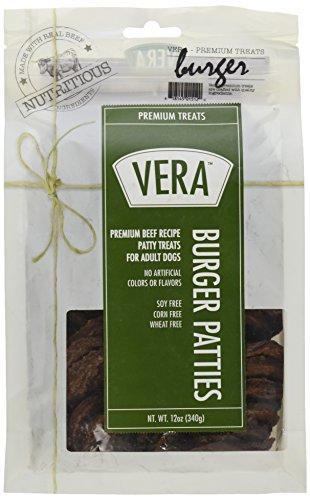 Vera Premium Beef Burger Patties, Treats For Dogs, ()