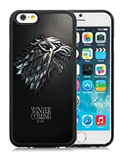 High Quality iPhone 6 4.7 Inch TPU Case ,Cool And Fantastic Designed Case With Game Of Thrones 1 Black iPhone 6 Cover