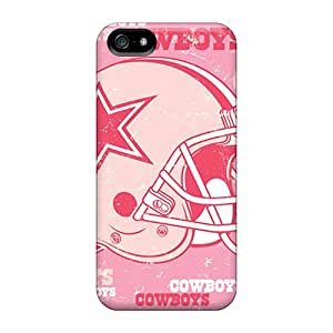 New Style JenniferTziamouranis Dallas Cowboys Premium Covers Cases For Iphone 5/5s