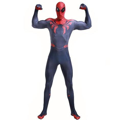 ASJUNQ Último Traje De Spiderman Medias De Cosplay Fiesta ...