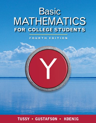 Bundle: Basic Mathematics for College Students, 4th + Enhanced WebAssign Homework with eBook Access Card for One Term Ma