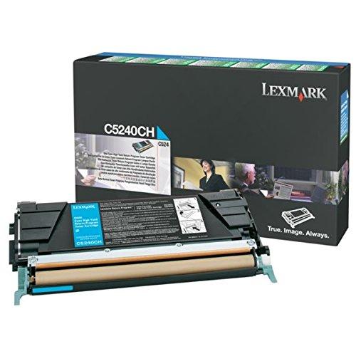 Lexmark C5240CH OEM Toner - High Yield Cyan Return Program Toner 5000 Yield OEM ()