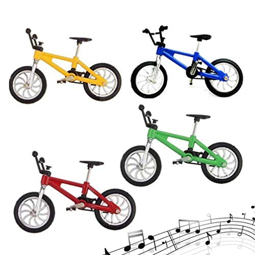 [해외]TOYANDONA 4Pcs Colorful 1:18 Bright Finger Miniature Mountain Bike Model Toy Creative Alloy Bicycle Toys for Boys Kids Children / TOYANDONA 4Pcs Colorful 1:18 Bright Finger Miniature Mountain Bike Model Toy Creative Alloy Bicycle T...