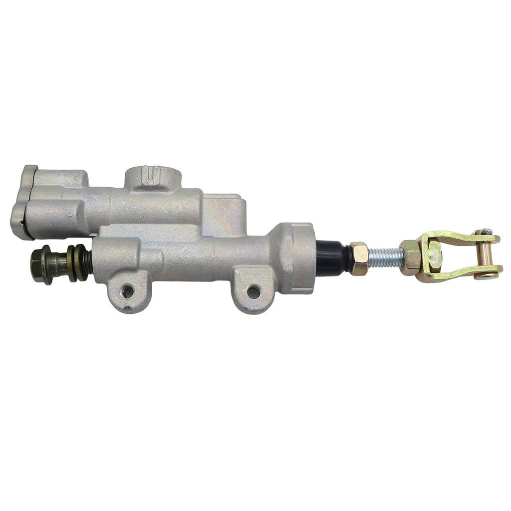 KESOTO Bremspumpe Bremszylinder Hinten Bremse Brake Cylinder Hauptbremszylinderpumpe f/ür Honda CR125R