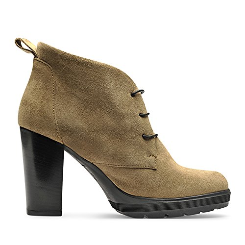 Shoes Evita Femme Shoes Bottines 40 Daim Beige TUANA Evita qTxSE