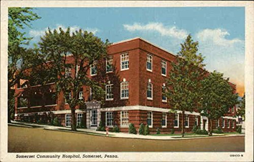 Somerset Community Hospital Somerset, Pennsylvania Original Vintage - Stores Somerset