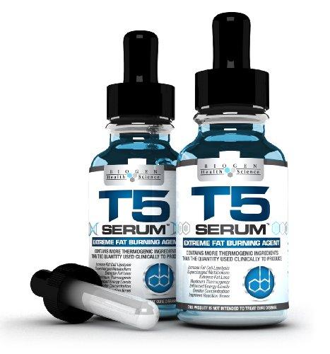 x2 T5 Fat Burners Serum XT : Maximum Strength & Fast Acting – Weight Loss/Diet Pills Alternative (2 Month Supply)
