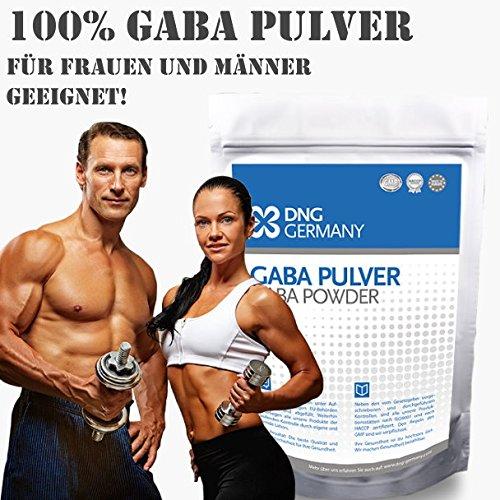 Gaba (150g & # x2022; 100% Sin aditivos) 50 raciones. & # x2022; pura Gamma Amino Mantequilla Acid polvo, Amino ácidos   HGH - Crecimiento ausschüttung ...